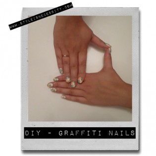 DIY - GRAFFITI NAILS