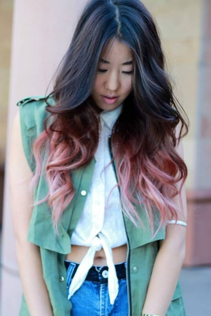 HAIR MAKES THE WOMAN! DIP DYE! · STYLE IS NECESSITY
