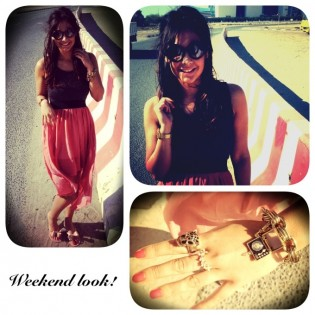 Weekend look of the day!