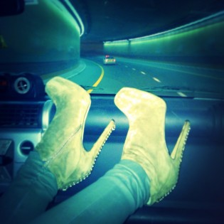 THESE BOOTS ARE MADE FOR DANCI...