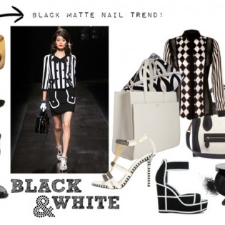 Black & White - Key trend ...